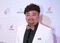 中國著名影星、中美電影節開幕式主持人洪劍濤先生