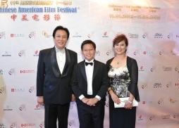 中國著名表演藝術家中美電影節共同主席唐國強先生一家
