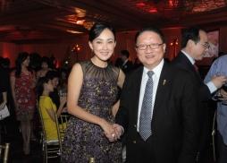 中美電影節主席蘇彥韜與著名影星牛莉