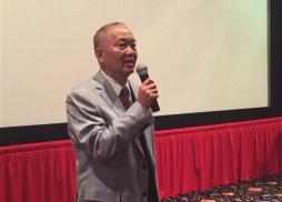 中美電影節公共關係總監盧威先生致詞