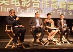 主持人、中國電影海外推廣公司負責人谷國慶發言