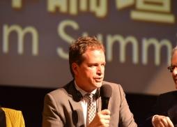 IMAX 公司資深副總裁Anthony Vogels 發言
