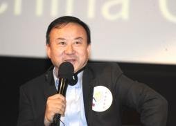 麒麟網(北京)影視文化傳媒有限公司CEO 龐洪發言
