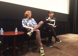 Composer Jesper Kyd (left) & Director Lu Chuan (right) during Q&A 【 九層妖塔】音樂製作人和導演陸川做講解