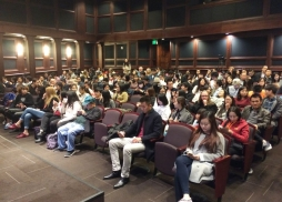 Full house at the USC Ray Stark Family Theater劇場內滿場
