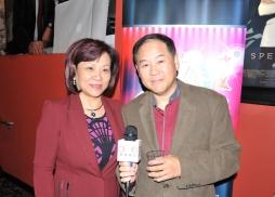 Marina Theater影院的負責人Frank Lee接受環球東方採訪