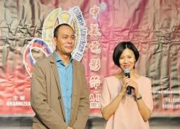 中國著名影視紅星張光北、陳煒伉儷專程來美出席新聞發佈會