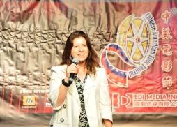 美國製片人公會China Task Forc負責人Elizabeth Dell致辭